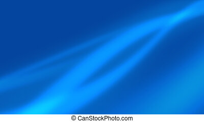 Blue Waves - Wavy soft shapes of different shades dark blue...