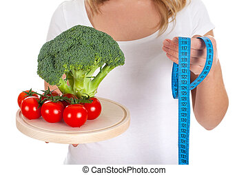 Starting diet tomorrow - Picture of fresh vegetables and...