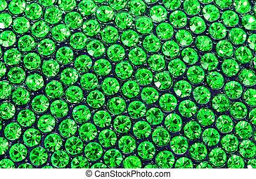 esmeralda, verde, Cristales
