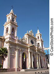 Cathedral  in Salta (Argentina)