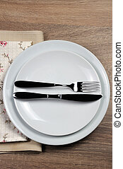 Dining etiquette - I still eat, finished . Fork and knife...