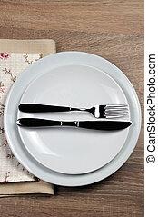 Dining etiquette - I still eat, finished . Fork and knife...