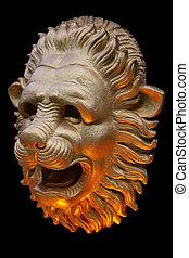 Antique lion.