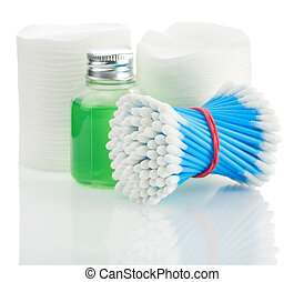 composition of cleaning accesories
