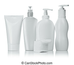 cosmetical bottles