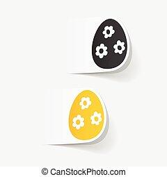 realistic design element: easter egg