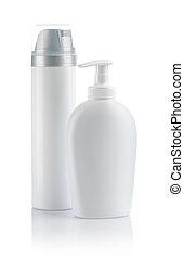 two cosmetical spray