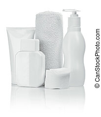 composition of cosmetical accesories