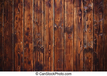 Wooden natural texture background, table or boards top view