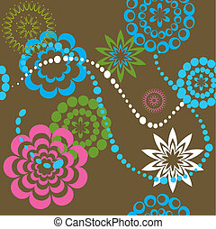 Retro Pattern Vector Illustration