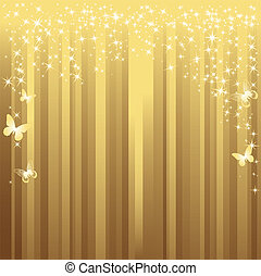 Gold background. Vector