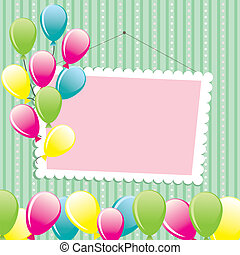 Congratulation Background vector illustration