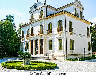 HDR Padua, Italy - High dynamic range (HDR) Ancient villa...