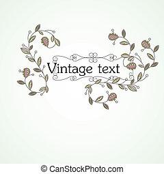 Vintage background. vector illustration