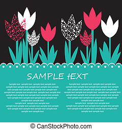 Flower background design for you.