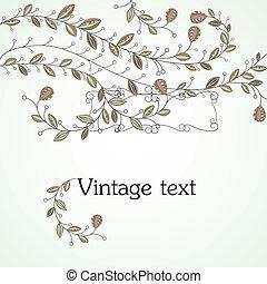 Vintage background. vector