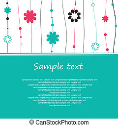 Flowers. vector illustration