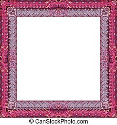 Ethnic bohemian frame design. Vintage decor
