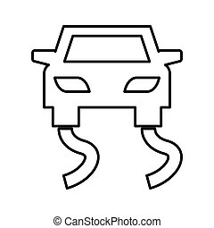 Slippery road traffic signal vector illustration design