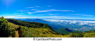 Trail Scenic Kew Mae Pan Doi Inthanon in Chiang Mai...