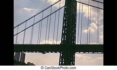 Vintage Manhattan Bridge - Vintage seventy old Manhattan...