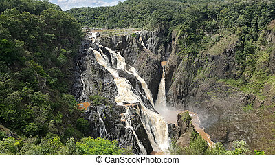 Barron Falls tropical Australia - Barron Falls tropical...