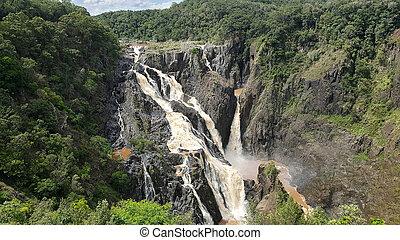 Barron Falls tropical Australia - Barron Falls tropical...