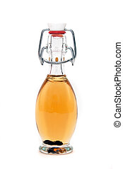 Bottle - Small bottle with a strong yellow liquer