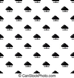 Cloud computing connection pattern, simple style - Cloud...