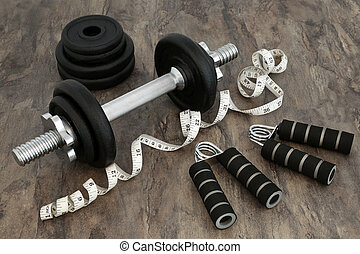 Body Building Equipment - Body building equipment with...