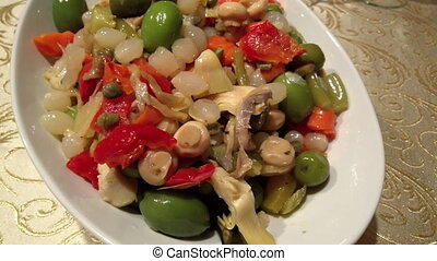 Neapolitan Insalata Di Rinforzo - Typical pickles and...