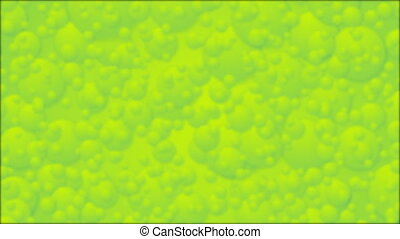 Abstract green blurred circles video animation - Abstract...