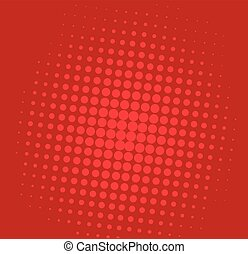 Pop Art Comic Red Background Pattern Illustration Vector...
