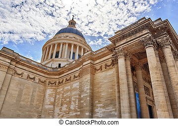 French Mausoleum of Great People of France - the Pantheon in...