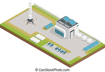 Space Isometric Composition