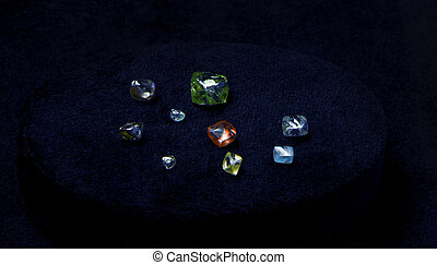 natural crystals of the Diamond
