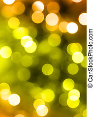 party lights - golden party lights