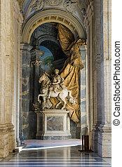 Vatican. Saint Peter's basilica gallery