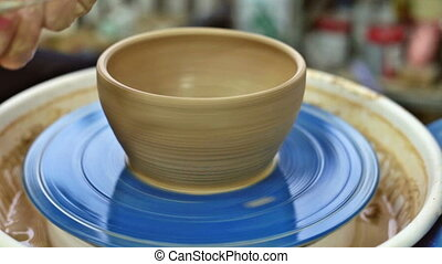 Education pottery. Making the bowl. Part 11. - Education...