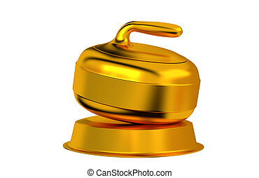 Curling Golden Trophy