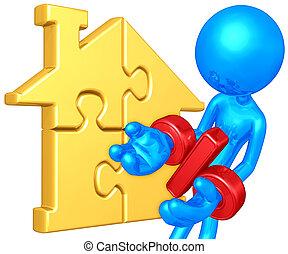 Home Puzzle Percentage Problem