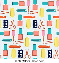 Nails art beauty salon.patterb