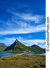 Lofoten archipelago - Lofoten is an archipelago in the...
