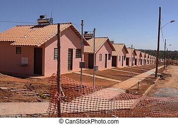 Social buildings for poor people in brazil