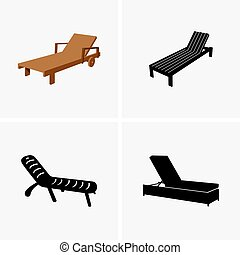 Deck chairs - Set of deck chairs