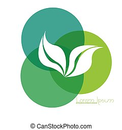 Isolated nature logo - Isolated abstract nature business...
