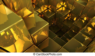 Gold - 3D animation