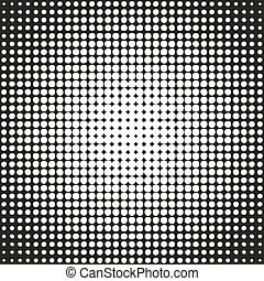 Abstract circle halftone on a white background. Vector...