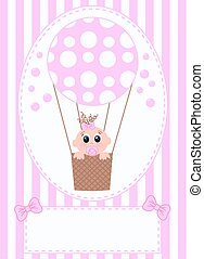 newborn baby girl - newborn baby card for girls