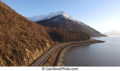 Turnagain Arm Cook Inlet Gulf of Alaska Highway 1 Chugach...